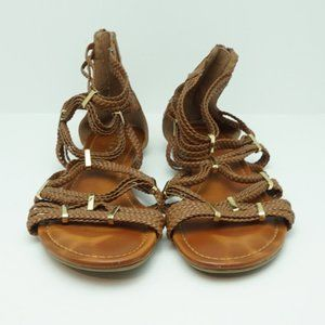 Aldo Tan Braided Gladiator Sandals